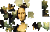 Mona Lisa  Puzzle